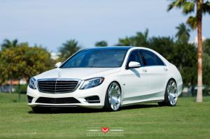 Mercedes-Benz S550 by RENNtech on Vossen Wheels 2015 года
