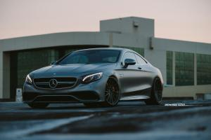 2015 Mercedes-Benz S63 AMG Coupe by RENNTech on ADV.1 Wheels (ADV15RTSCS)