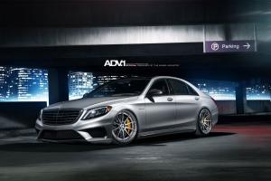 Mercedes-Benz S63 AMG by RENNtech on ADV.1 Wheels (ADV10TSCS) 2015 года