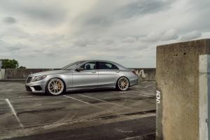 2015 Mercedes-Benz S63 AMG on ADV.1 Wheels (ADV5.0TSC)