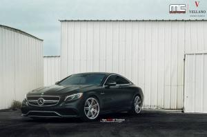 Mercedes-Benz S63 Coupe AMG by MC Custom on Vellano Wheels 2015 года