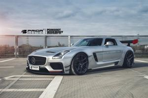2015 Mercedes-Benz SLS AMG PD900GT by Prior Design