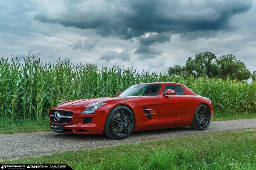 Mercedes-Benz SLS AMG by ATT-Tec on ADV.1 Wheels (ADV05MV2CS)