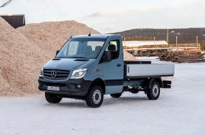2015 Mercedes-Benz Sprinter 4x4 Dropside