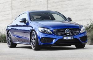 Mercedes-AMG C43 4Matic Coupe 2016 года (AU)