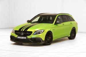 Mercedes-AMG C63 Estate 650 Green Hell by Brabus 2016 года