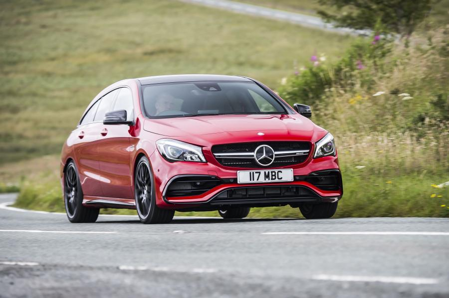 Mercedes-AMG CLA45 4Matic Shooting Brake