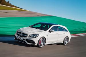 Mercedes-AMG CLA45 4Matic Shooting Brake 2016 года