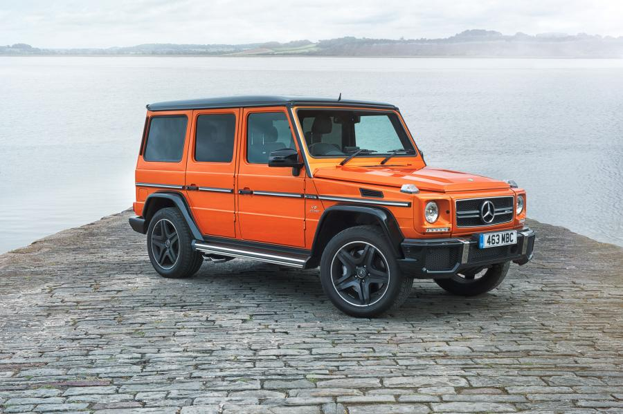 2016 Mercedes-AMG G63 Colour Edition (UK)
