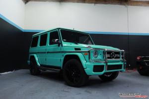 Mercedes-AMG G63 Gloss Tiffany Blue by Impressive Wrap 2016 года