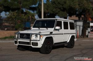 Mercedes-AMG G63 in Satin Pearl White by Impressive Wrap 2016 года