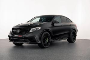2016 Mercedes-AMG GLE63 Coupe 850 on Black Wheels by Brabus