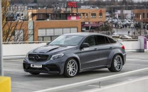 2016 Mercedes-AMG GLE63 Coupe PDG800X WB in Black by Prior Design