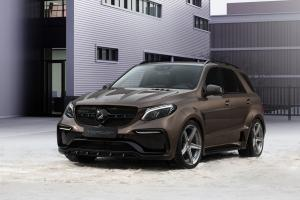 2016 Mercedes-AMG GLE63 Inferno by TopCar on ADV.1 Wheels (ADV5 M.V1 SL) (Dacota Brown)
