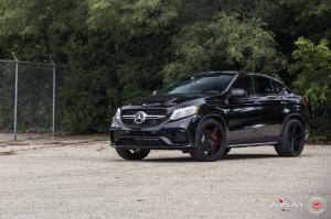 2016 Mercedes-AMG GLE63 S Coupe on Vossen Wheels (CPS-302)