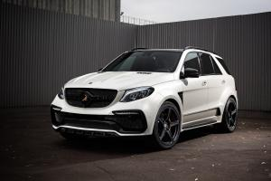 2016 Mercedes-AMG GLE63 Inferno by TopCar (White)
