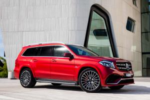 Mercedes-AMG GLS63 4Matic 2016 года