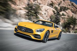 Mercedes-AMG GT C Roadster 2016 года