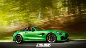 Mercedes-AMG GT R Roadster by X-Tomi Design 2016 года