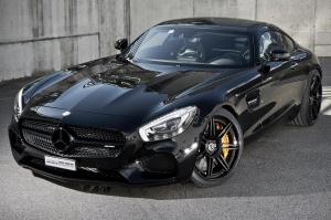 Mercedes-AMG GT S Graphite Black by Cartech 2016 года