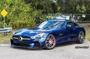 Mercedes-AMG GT S R1 Brilliant Blue Metallic by RENNtech 2016 года
