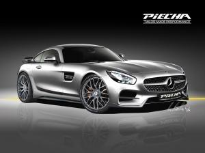 Mercedes-AMG GT S Renderings by Piecha Design 2016 года