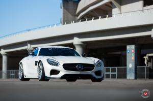 2016 Mercedes-AMG GT S Wide Body by Hamana Japan on Vossen Wheels