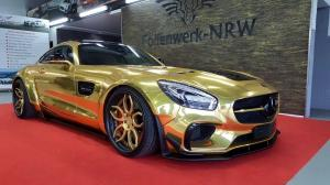 Mercedes-AMG GT S in Gold by Folienwerk-NRW 2016 года
