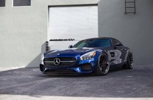 Mercedes-AMG GT S on ADV.1 Wheels (ADVRSQ2 Track Spec CS) 2016 года