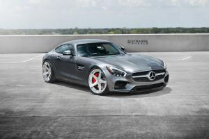 Mercedes-AMG GT S on Strasse Wheels (S5 Deep Concave SC) 2016 года