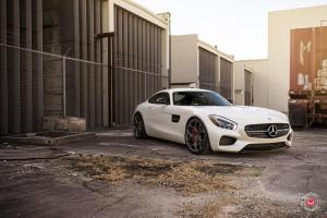 Mercedes-AMG GT S on Vossen Wheels (CG-205) 2016 года