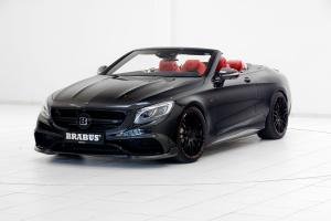 Mercedes-AMG S63 850 Cabriolet by Brabus 2016 года