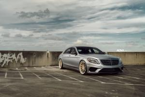 Mercedes-AMG S63 AMG on ADV.1 Wheels (ADV5.0 TRACK SPEC CS) 2016 года