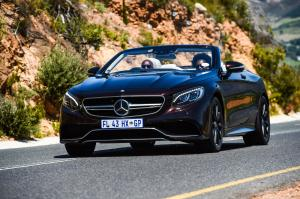 2016 Mercedes-AMG S63 Cabriolet