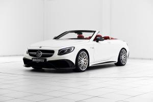 Mercedes-AMG S63 Cabriolet 850 White by Brabus 2016 года