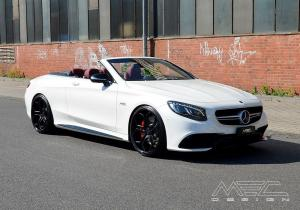 Mercedes-AMG S63 Cabriolet by MEC Design 2016 года