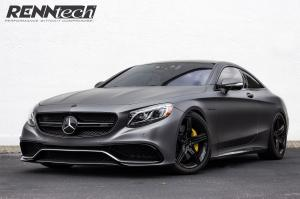 Mercedes-AMG S63 Coupe Matte Black by RENNtech 2016 года