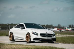 Mercedes-AMG S63 Coupe by MC Customs on ADV.1 Wheels (ADV15 MV.2 CS) 2016 года