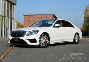 Mercedes-AMG S63 Coupe on ADV.1 Wheels (ADV5S TRACK SPEC CS) 2017 года