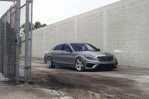 Mercedes-AMG S63 on ADV.1 Wheels (ADV5S TRACK SPEC CS) 2016 года