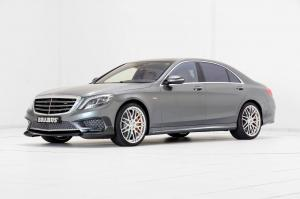 Mercedes-AMG S65 Rocket 900 in Grey by Brabus 2016 года