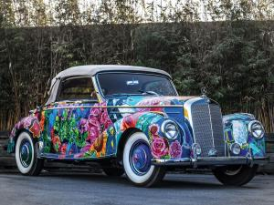 Mercedes-Benz 220 Cabriolet A Earthly Paradise Art Car by Hiro Yamagata 2016 года