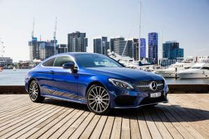 2016 Mercedes-Benz C200 Coupe AMG Line