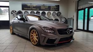 2016 Mercedes-Benz CLS500 Matte Charcoal by Prior Design