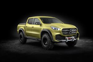 2016 Mercedes-Benz Concept X-Class Powerful Adventurer