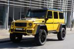 Mercedes-Benz G500 4x4² in Yellow by Brabus 2016 года