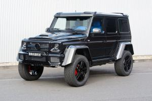Mercedes-Benz G500 4x4² with Blue Interior by Brabus 2016 года