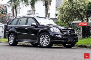 Mercedes-Benz GL500 4Matic on Vossen Wheels (CV4) 2016 года