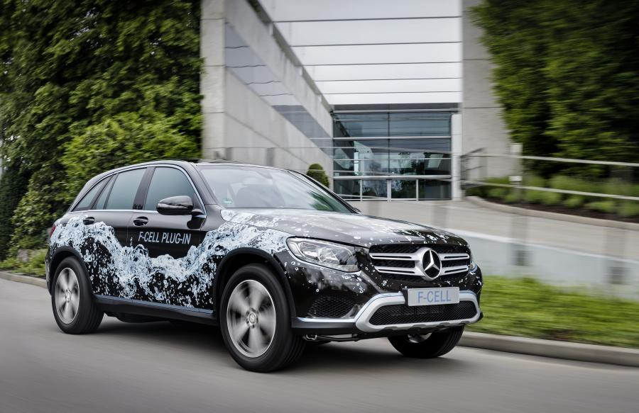 Mercedes-Benz GLC F-CELL Plug-in Prototype