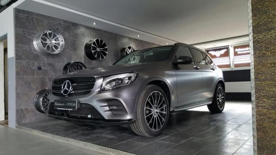 Mercedes-Benz GLC-Class in Satin Dark Grey by NRW